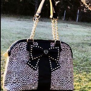 Cheetah print Betsey Johnson Purse